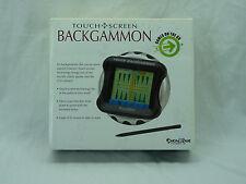 Touch Backgammon Electronic Handheld Excalibur