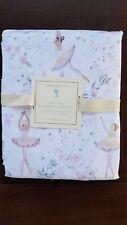 Pottery Barn Kids Ballerina Organic Sheet Set Full Pink #4230