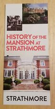 History Of The Mansion At Strathmore North Bethesda Maryland Brochure Rockville