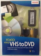 Roxio Easy VHS to DVD Converter For VHS Tapes And Hi8 Or V8 Home Videos