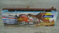 Athearn 2005 HO Scale 86' Flat Car Santa FE ATSF No 89110 Model Wagon Boxed