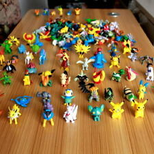 Random 24pcs/set Pikachu Pokemon Go Mini Action Figure Toy 2-3cm Pocket Monster