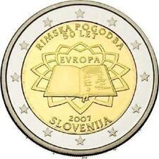 "SLOVENIE SPECIALE 2 EURO 2007 UNC:  ""VERDRAG VAN ROME"""
