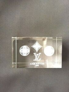 LOUIS VUITTON CRYSTAL MONOGRAM PAPER WEIGHT - BRAND NEW !!!