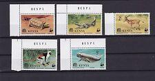 Kenia 87-91** WWF KROKODIL ANTILOPE SCHILDKRÖTE WILD LIFE KENYA AFRICA CORNER