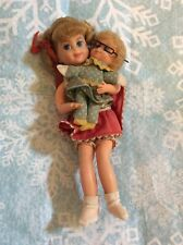 Vintage Mattel 1967 Buffy & Mrs Beasley - With Glasses Miniature Dolls