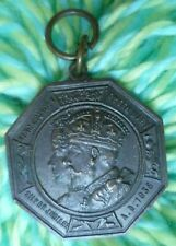 1935 King George V Queen Mary Silver Jublee Borough of Bromley Medal - BRONZE