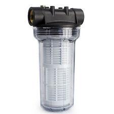 AWM 2L Vorfilter Hauswasserwerk Wasserfilter 3000 l/h Pumpenfilter max. 4 bar