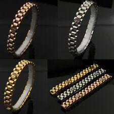 Bracciale Modello Corona Datejust Rolex Color Oro Acciaio Rosa Bracelet