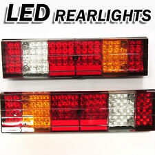 Led Rear Tail Lights Truck Lorry Trailer Fits Scania Volvo Daf Man Iveco 24v