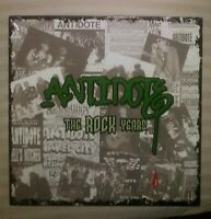 ANTIDOTE THE ROCK YEARS LP GRAY SPLATTERED VINYL SEALED LIMITED PUNK HARDCORE NY