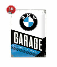 23211 Placa metálica 30x40 bmw garage nostalgic art coolvintage