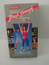 Body Breakthrough Activity Plan Level 3 VHS Video Tape Workout Fitness Exercise