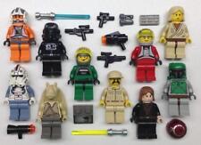 10 LEGO STAR WARS MINIFIGS LOT figures vintage luke anakin boba fett tie pilot