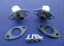 55 56 Chevy Dome Light Switches & Gaskets *NEW* Pair 1955 1956 Chevrolet