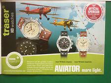 2010 PUB MONTRE WATCH FLIEGERUHREN TRASER H3 AVIATOR JUNGMANN JUNGMEISTER AD
