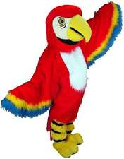 Red Macaw Professional Quality Lightweight Mascot Costume