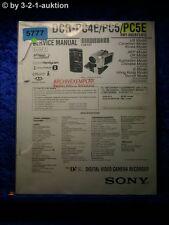 Sony Service Manual DCR PC4E /PC5E /PC5 Level 2 Digital Video Camera (#5777)