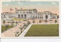 Union Station. Washington DC. Vintage Postcard.