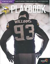 Minnesota Vikings Carolina Panthers 10/13/13 Playbook SGA...Kevin Williams