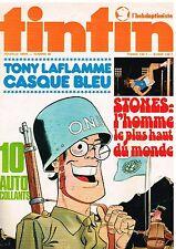 B15- Tintin l'hebdoptimiste N°66 Tony laflamme casque Bleu,Dwight Stones