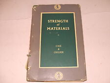 Strength Of Materials By Chase & Chilver 1964