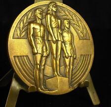 Médaille podium sportif sport art déco 62g 50 mm par Bouillot Medal 铜牌