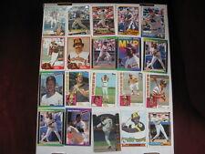 Lot of 20 San Diego Padres baseball cards. 1970s-present, RC, HOF, chrome