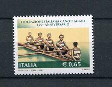 Italia 2008 Sport 120 anniversario federazione Italiana Canottaggio  MNH