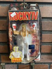 Rocky IV Ivan Drago In White Training Gear Movie Action Figure Jakks (MOC)