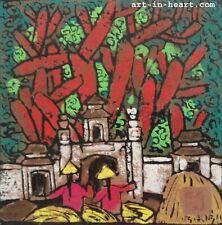 Harvest  Graphic Ngoc Tung b1957 VUFA alumni Japan1990 French1991 & Painters..