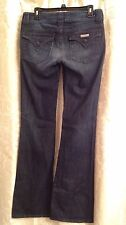 Hudson Women's Jeans Stone Washed Boot Cut Low Rise Size 29