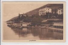 AK Lovran, Laurana, Teilansicht, 1925