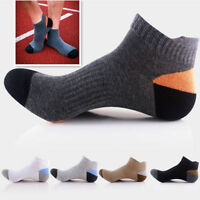 5Pairs Men's Sport Boat Summer Low Cut Socks Fashion Breathable Socks Ankle Sock