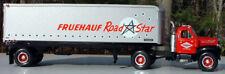 FRUEHAUF ROADSTAR B MACK TRACTOR TRAILER 14 INCHES LONG BIG RIG - FIRST GEAR