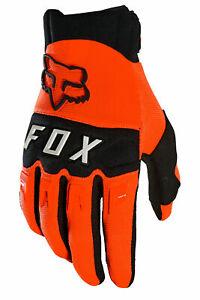 Fox Racing Mountain Bike Dirtpaw Glove Flo Orange Size- Small