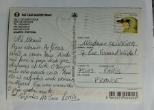 mail sent from Portugal to France. 2011