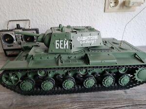 Heng Long 1:16 RC Russischer Panzer KPz KV-1