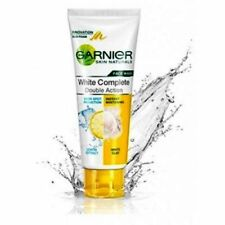 Garnier White Complete Double Action Face Wash 100ml free shipping