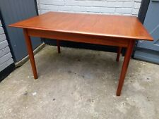 More details for dalescraft mid century teak extending dining table