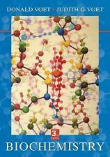 Biochemistry by Judith G. Voet, Donald Voet and Donald J. Voet (2004,...