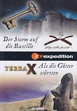 TERRA X - DVD - Der Sturm auf die Bastille / Als die Götter stürzten  ( NEU )