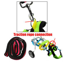 Cat Dog Wheelchair Disabled Handicapped Doggie Traction Walk Training Tools XXS