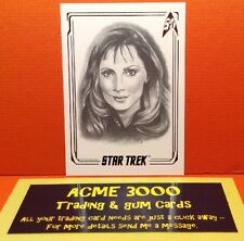 Rittenhouse - Star Trek 50th Anniversary - ArtiFEX CARD - Dr Crusher - A15