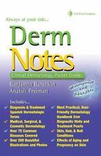 Davis Derm Notes Dermatology Clinical Pocket Guide by Barankin and Freiman - PDF