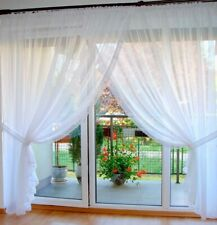 Ready made Voile Net curtains Patio french Doors -  /Voiles/Firany/Firanki/new
