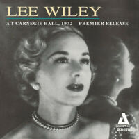 Lee Wiley - At Carnegie Hall (1972) [New CD]
