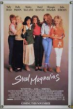 STEEL MAGNOLIAS ROLLED ORIG 1SH MOVIE POSTER JULIA ROBERTS DARYL HANNAH (1989)
