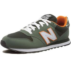 new balance 574 uomo pelle verdi