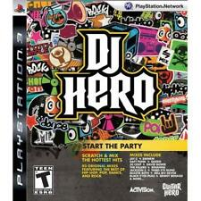 DJ Hero Game Only (PlayStation 3, PS3) - FREE SHIPPING™